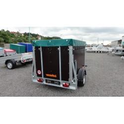 Přepravník zvířat Agro 13.1 brzděný, 1300 kg