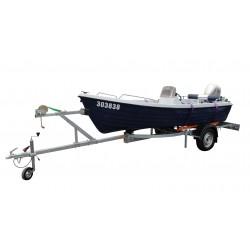 Přívěsný vozík na přepravu člunů Falkon 10R nebrzděný, 750 kg