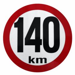 Omezení rychlosti 140 km...