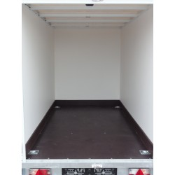 Skříňový překližkový přívěs PS 18 nebrzděný, 750 kg