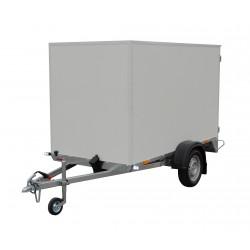 Překližkový skříňový přívěsný vozík PS 23 nebrzděný, 750 kg