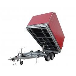 Přívěsný vozík JUKI 35.3 brzděný, 3500 kg
