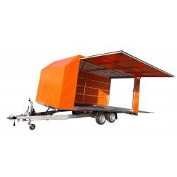Přívěsný vozík Jumbo 30.4 brzděný, 3000 kg